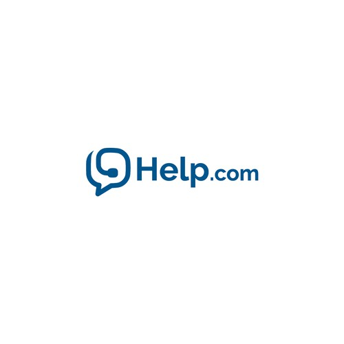 Headphone logo with the title 'Help.com'