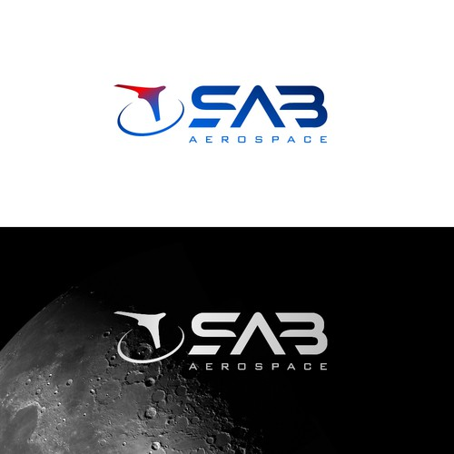 Aerospace logo with the title 'S.A.B Aerospace'