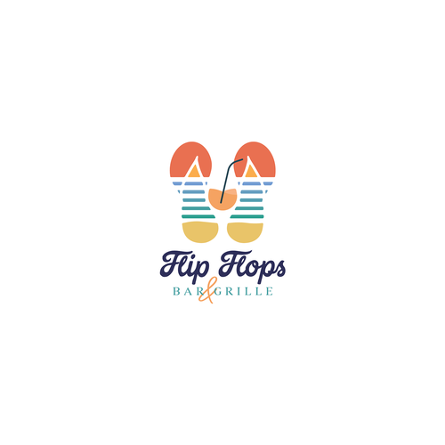 Bahamas logo with the title 'Flip Flops'