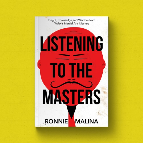 Calm design with the title 'Listening To The Masters Book Cover'