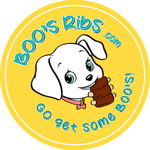 Labrador logo with the title 'Logo design for a pet restaurant'