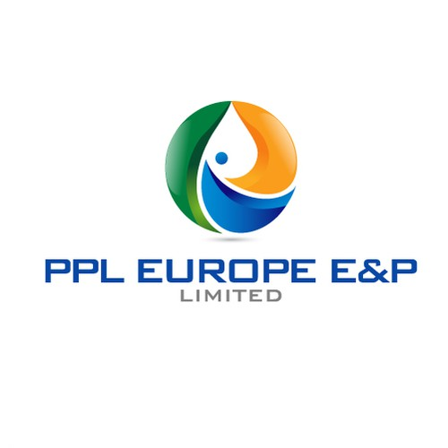 Oil and gas logo with the title 'PPL Europe E&P'