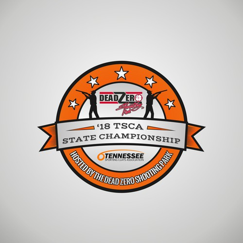 Shooting logo with the title '18 TS SPORTING CLAYS CHAMPIONSHIP'