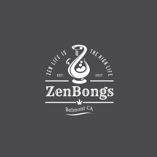 Z logo with the title 'Letter Z + Bongs'