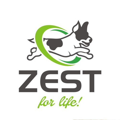 Best logo with the title 'Create a  great logo for Zest dog food'