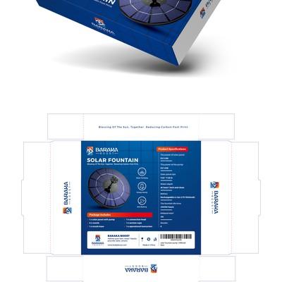 BARAKA Solar Fountain Box Design