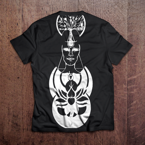 Tribal t-shirt with the title 'Trip'