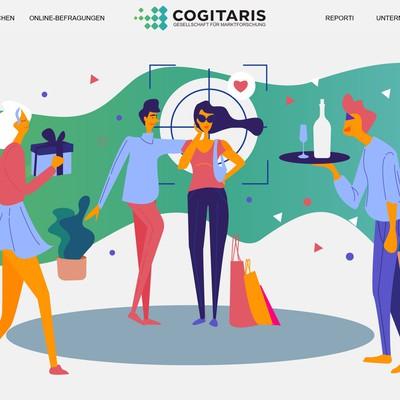 Illustration for website header