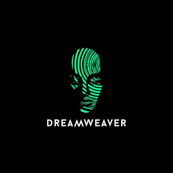 EDM design with the title 'DREAMWEAVER LOGO DESIGN'