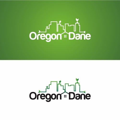 Oregon logo with the title 'Oregon Dane needs a new logo'