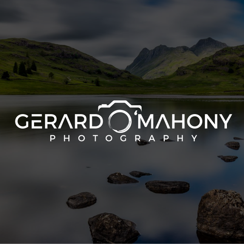 Camera brand with the title 'GERARD O'MAHONY PHOTOGRAPHY'