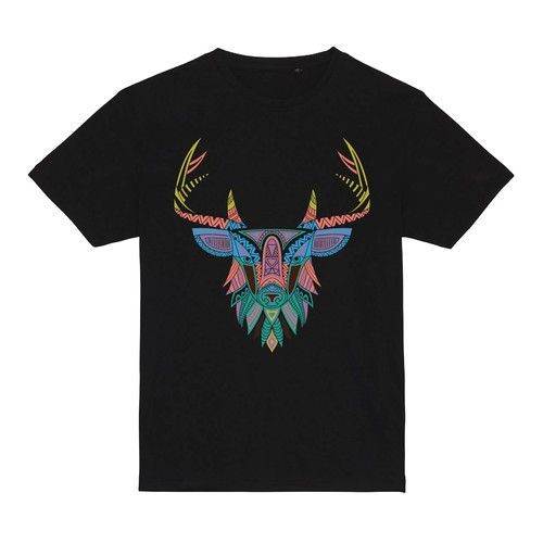Abstract t-shirt with the title 't shirt illustration design'