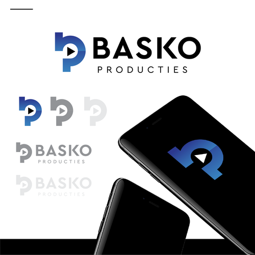 Phone logo with the title 'Basko'