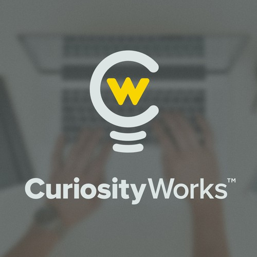 Curiosity design with the title 'Curiosity Works'