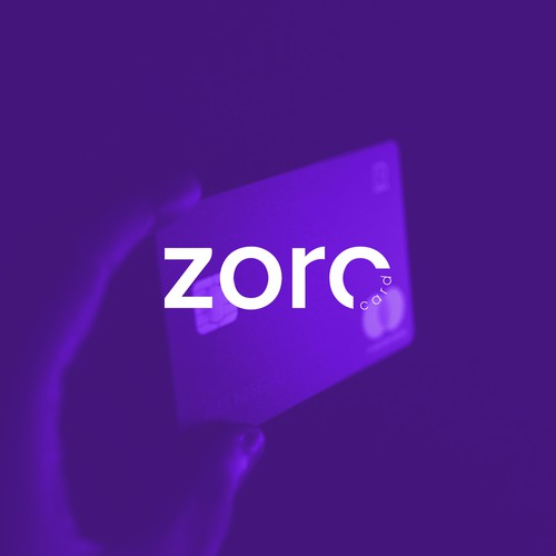 Credit logo with the title 'zoro card'