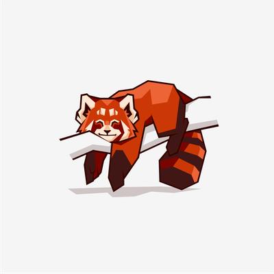 Mascot REDPANDA