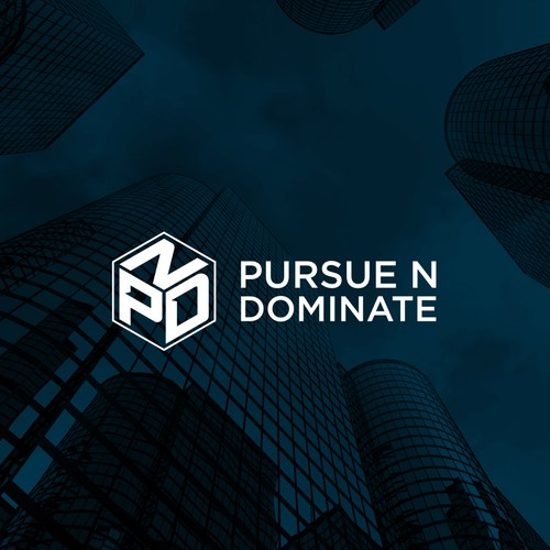 Manager logo with the title 'Pursue N Dominate'