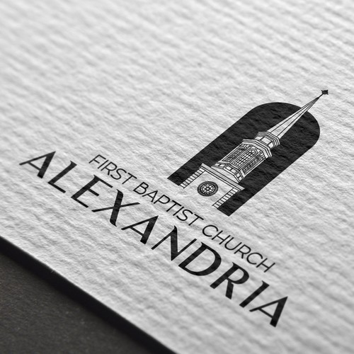 Kick-ass logo with the title 'Alexandria'
