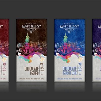 新巧克力包装设计