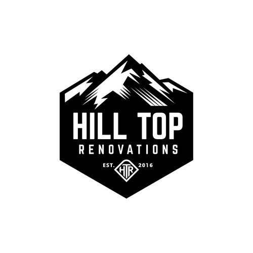 Renovation design with the title 'Hill top renovations'