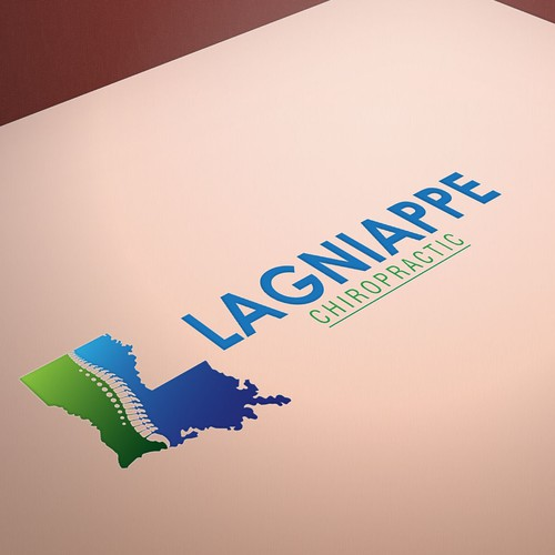 Chiropractic logo with the title 'Lagniappe Chiropractic'