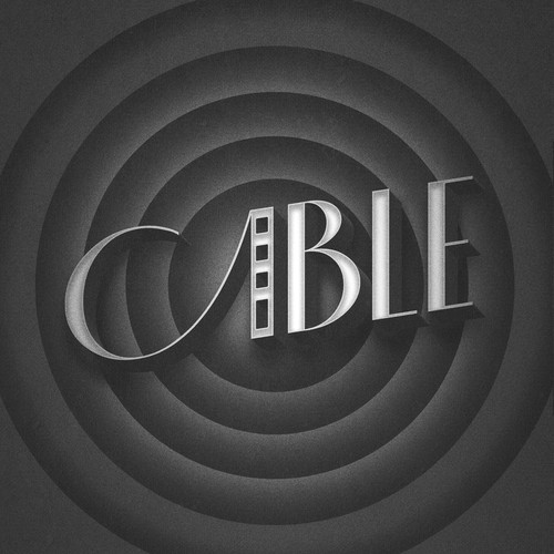San Francisco design with the title 'CABLE - a Broadway musical'