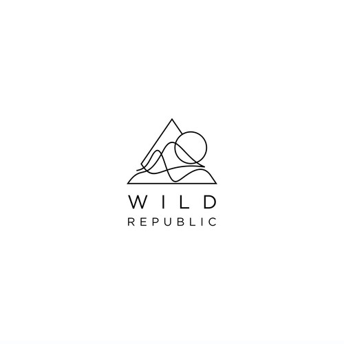 Simple design with the title 'wild republic'
