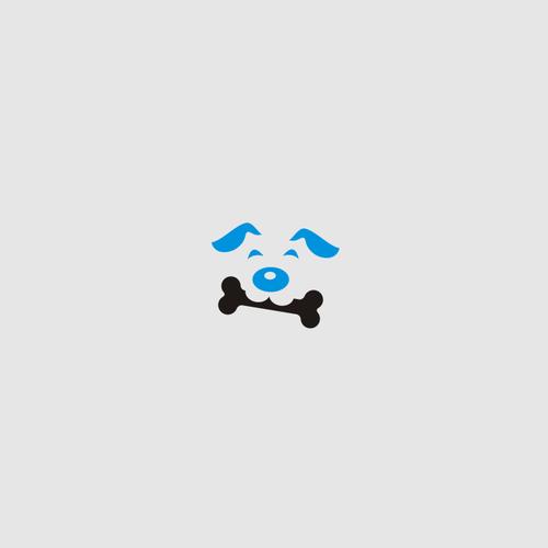 Bone logo with the title 'Dog & Bone'