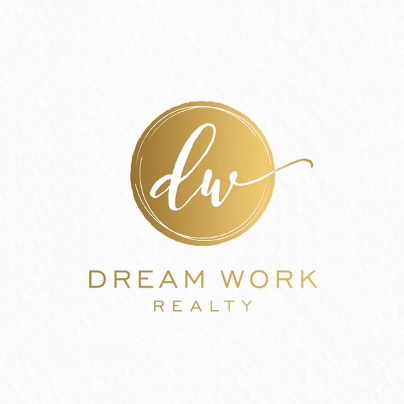 Real estate design with the title 'Dream Work Realty'
