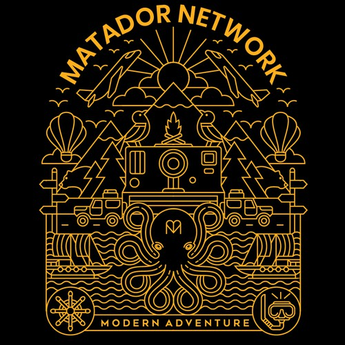 T-shirt with the title 'Matador Network'