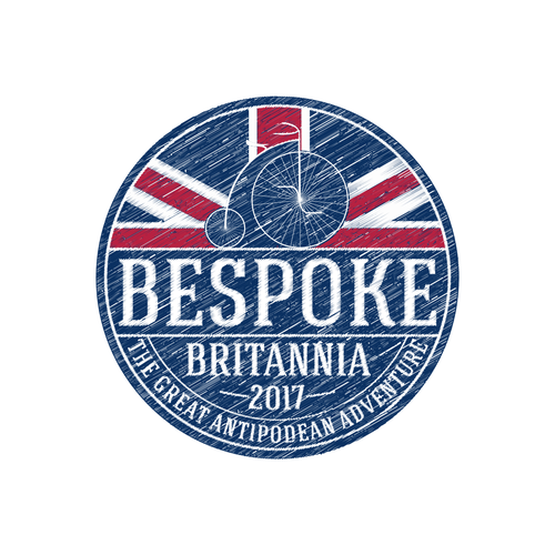 UK logo with the title 'Logo for vintage bicycle enthusiasts festival'