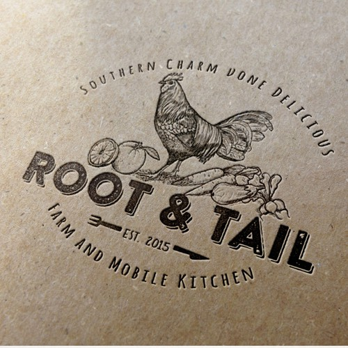 Cooking logo with the title 'ROOT'