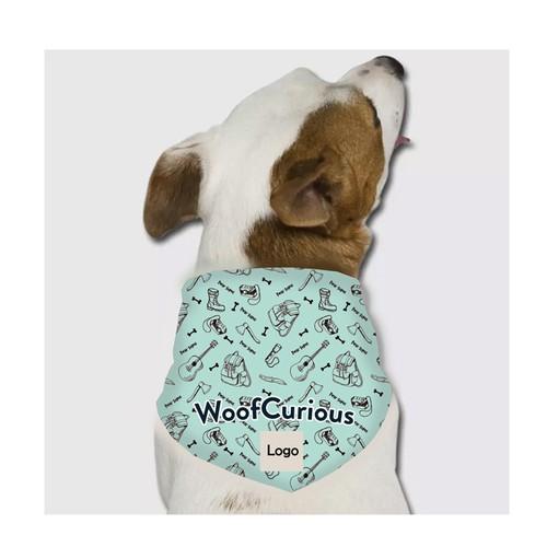 Bandana design with the title 'Dog bandana pattern'
