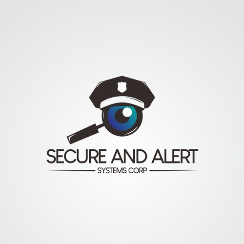 Police logo with the title 'security'