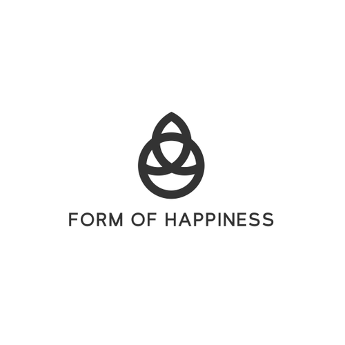 Happiness logo with the title 'Form Of Happiness'
