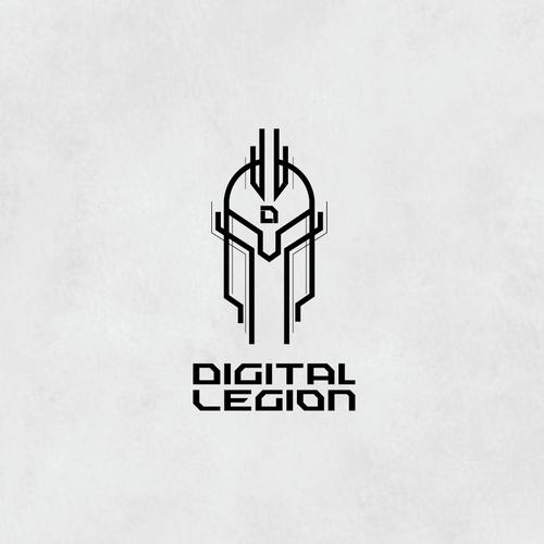 Spartacus logo with the title 'Digital Legion'