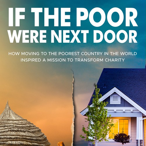 Travel book cover with the title 'If The Poor Were Next Door Book Cover'
