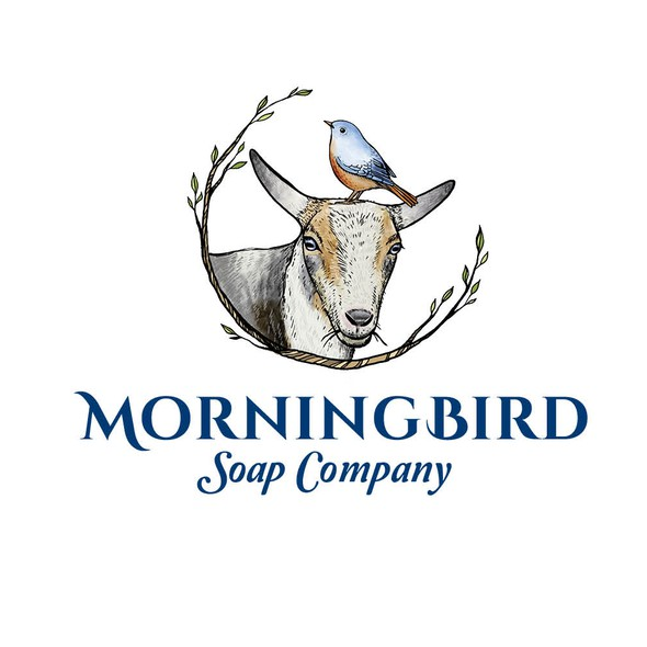 Goat brand with the title 'Morning bird'