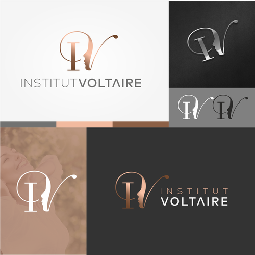 Youth design with the title 'Institut Voltaire'