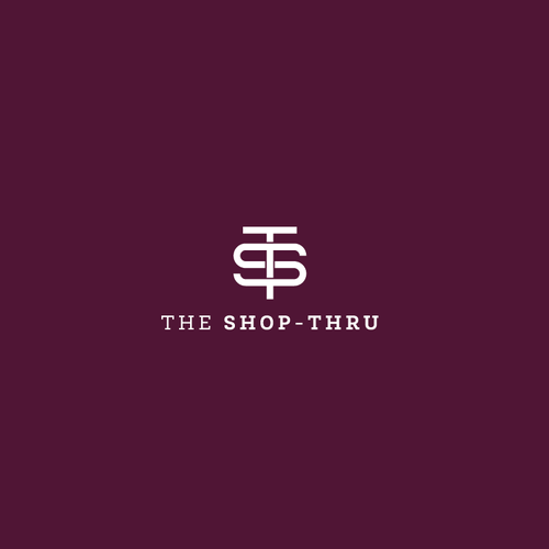 Timeless logo with the title 'The Shop-Thru Logo'