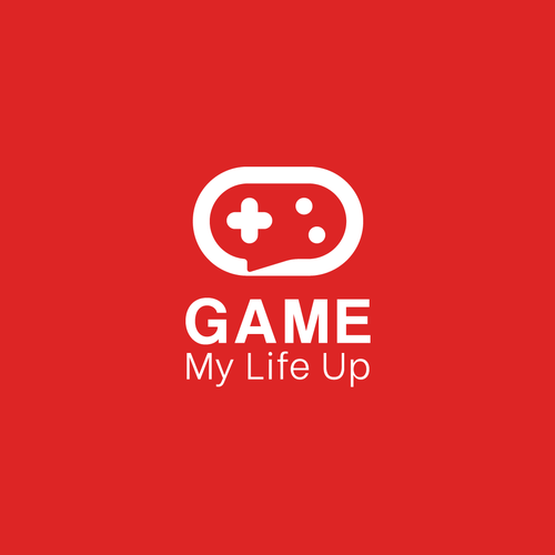 Switch design with the title 'Concept Logo Design Game Comunity'