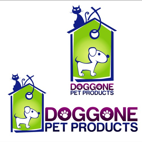 Pet logo with the title 'Pet Products'