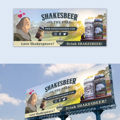 Shakesbeer billboard design