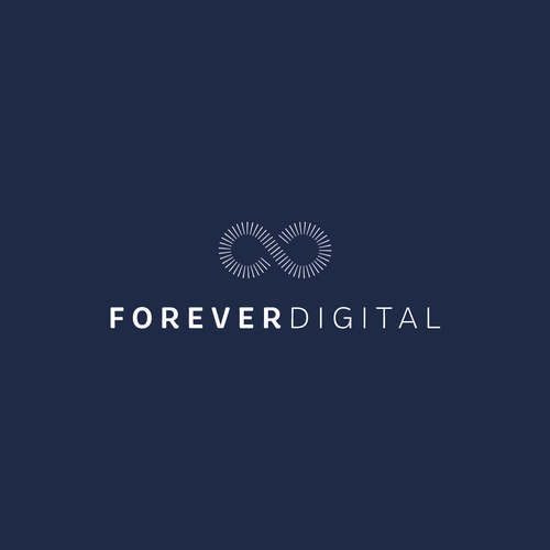 Forever logo with the title 'Forever Digital Logo'