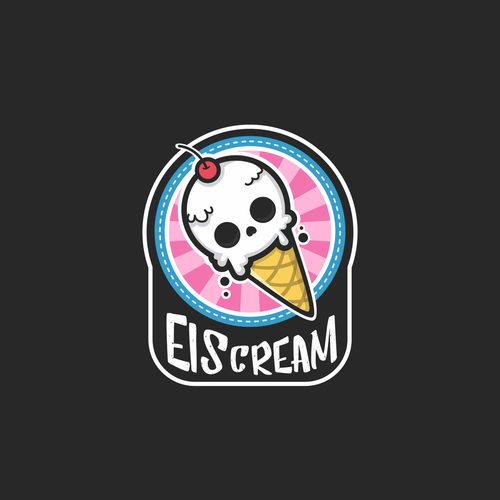 Halloween logo with the title 'EISCREAM'