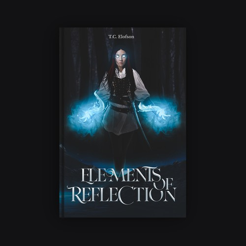 Supernatural book cover with the title 'Elements Of Reflection'