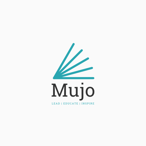 Education design with the title 'Give us your best Mujo for a new online educational publishing company'