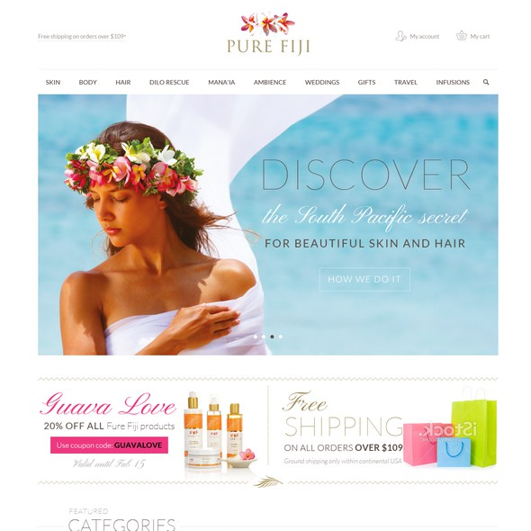 Spa website with the title 'Upmarket Spa Brand Requires Clean Responsive Website Revamp -Guaranteed'