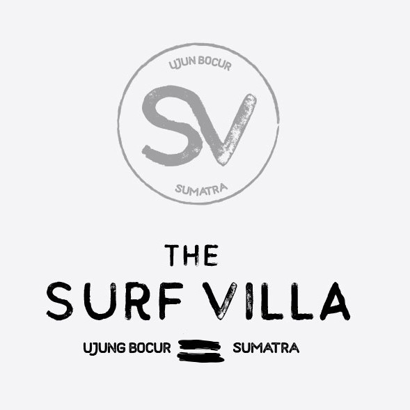 Punk logo with the title 'Surf logo design'