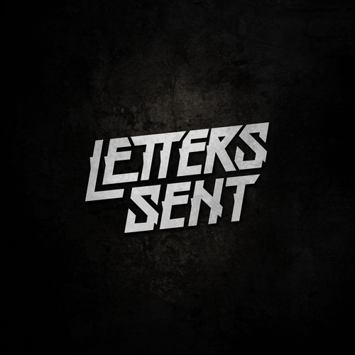 "Hardcore logo with the title 'Concept for ""Letters Send""'"